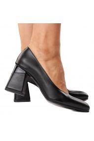 Pantofi stiletto eleganti din piele naturala 4290