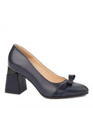 Pantofi stiletto eleganti din piele naturala 4317