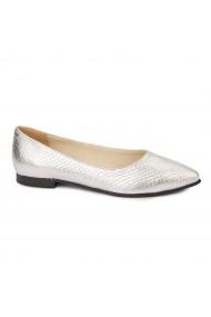 Pantofi cu toc dama din piele naturala 4467