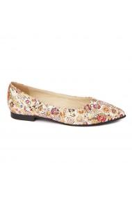 Pantofi cu toc dama din piele naturala 4469