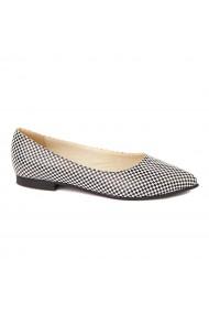 Pantofi cu toc dama din piele naturala 4474