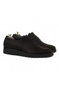 Pantofi Smart-Casual Negru Pudra 847