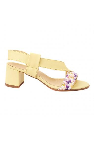 Sandale dama din piele naturala 5243