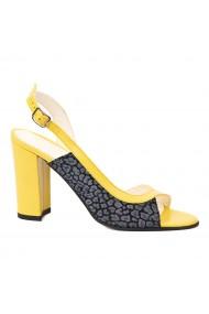 Sandale dama din piele naturala 5244