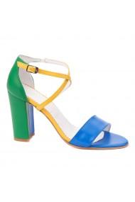 Sandale dama elegante din piele naturala 5236