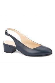 Sandale elegante din piele naturala cu toc mic 5256
