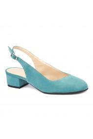 Sandale elegante din piele naturala cu toc mic 5258