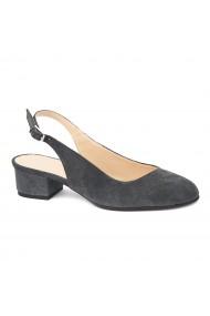 Sandale elegante din piele naturala cu toc mic 5261