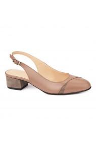 Sandale elegante din piele naturala cu toc mic 5280