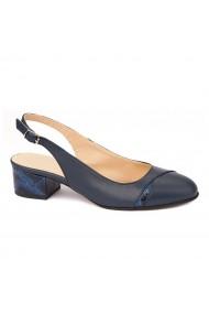 Sandale elegante din piele naturala cu toc mic 5287