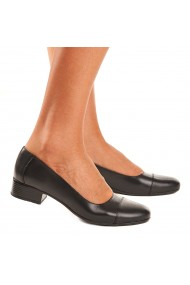 Pantofi dama piele naturala neagra 1557