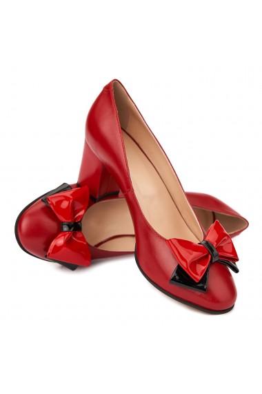 Pantofi dama din piele naturala 4503