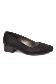 Pantofi dama piele naturala cu toc mic 1629