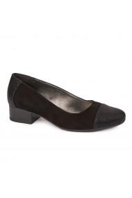 Pantofi dama piele naturala cu toc mic 1630