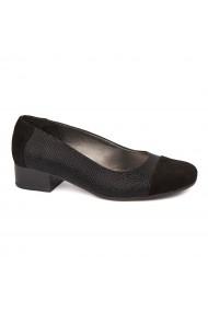 Pantofi dama piele naturala cu toc mic 1631