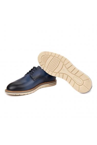 Pantofi casual din piele naturala bleo 1117