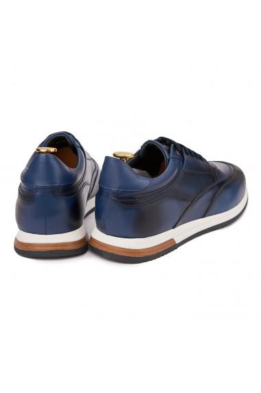 Pantofi casual sport din piele naturala bleo 1120