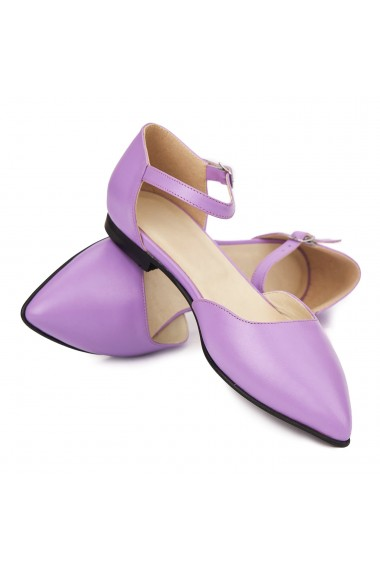 Sandale dama din piele naturala cu toc mic 5307