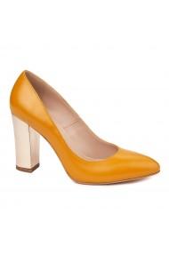 Pantofi dama din piele naturala 4575