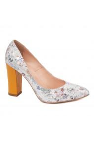Pantofi dama din piele naturala cu model 4591