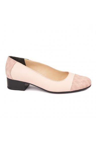 Pantofi dama piele naturala cu toc mic 1633