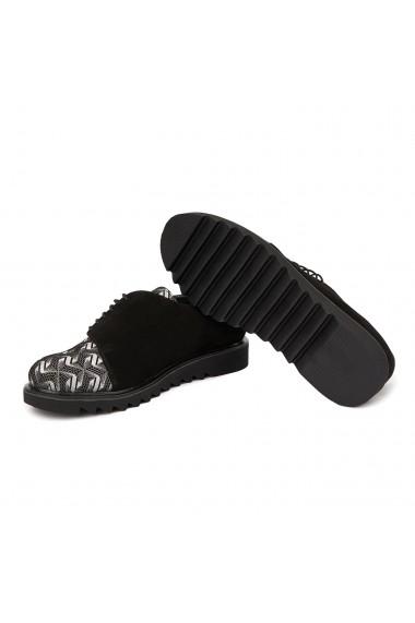 Pantofi dama casual piele naturala cu talpa usoara 1683