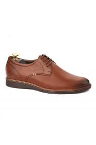 Pantofi barbati piele naturala maro 1081