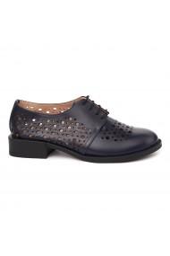 Pantofi Piele Naturala Albastra pentru Dama 1693