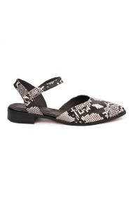 Sandale elegante din piele naturala cu toc mic 5324