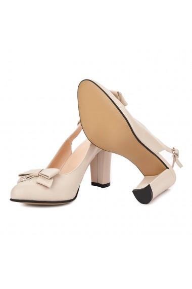 Sandale elegante din piele naturala 5342
