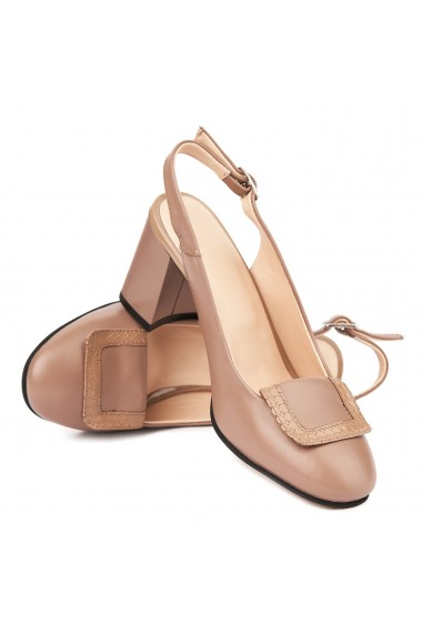 Sandale elegante din piele naturala 5348