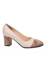 Pantofi dama din piele naturala 4679