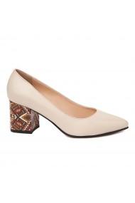 Pantofi dama din piele naturala 4680