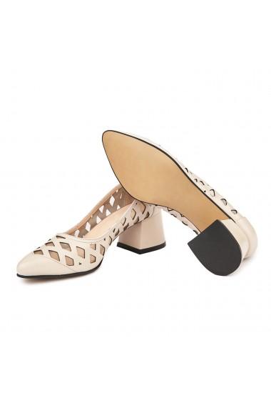 Pantofi dama din piele naturala 4687
