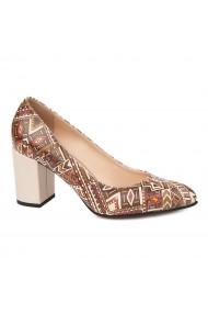 Pantofi dama din piele naturala 4699