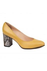 Pantofi dama din piele naturala 4706