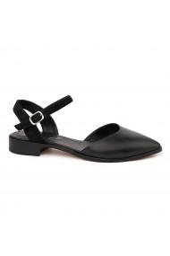 Sandale elegante din piele naturala cu toc mic 5372