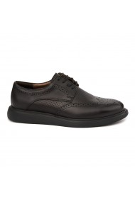 Pantofi casual din piele naturala maro 0240