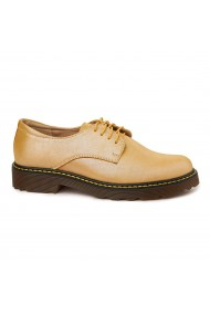 Pantofi Piele Naturala Auriu sidef 1818