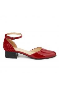 Sandale Elegante Din Piele Naturala Cu Toc Mic 5377