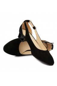 Sandale Elegante Din Piele Naturala Cu Toc Mic 5379