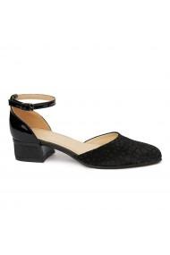 Sandale Elegante Din Piele Naturala Cu Toc Mic 5380