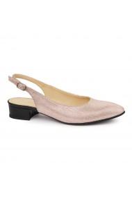 Sandale Elegante Din Piele Naturala Cu Toc Mic 5381
