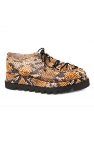 Pantofi dama casual din piele naturala 1622