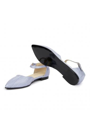 Sandale dama din piele naturala cu toc mic 5394