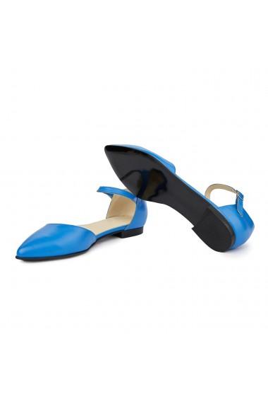 Sandale dama din piele naturala cu toc mic 5395