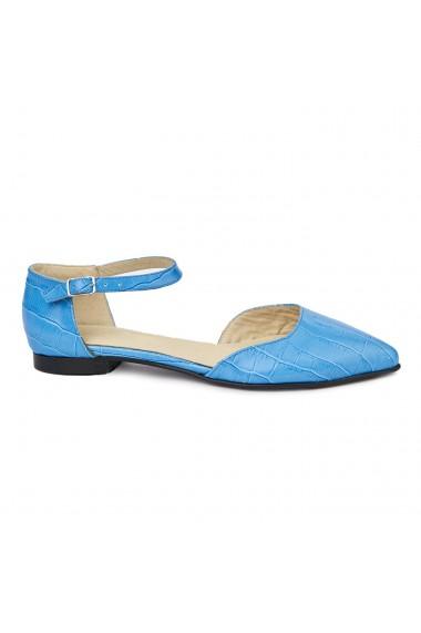 Sandale dama din piele naturala cu toc mic 5396