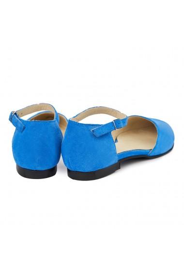Sandale dama din piele naturala cu toc mic 5397
