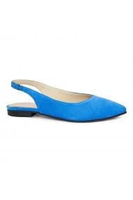 Sandale dama din piele naturala cu toc mic 5398