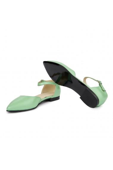 Sandale dama din piele naturala cu toc mic 5400